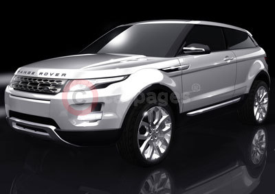 A Range Rover Design Drawing