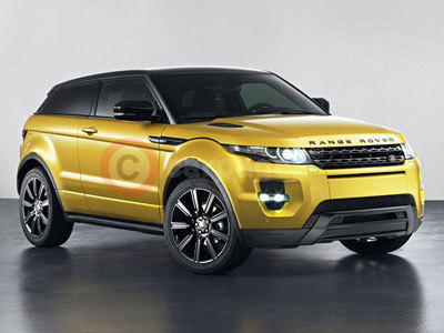 Range Rover Evoque Sicilian Yellow Limited Edition (2013)