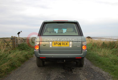 Range Rover Vogue SE Rear View