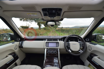 Range Rover (Interior View)