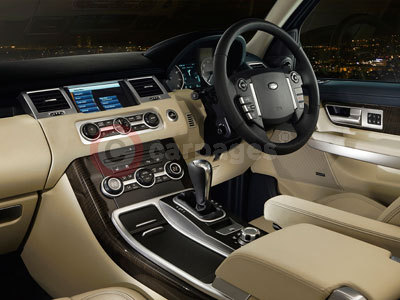 The Range Rover Sport Interior