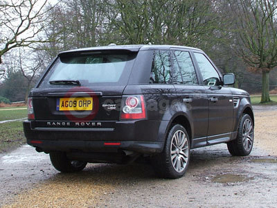 Range Rover Sport Rear View