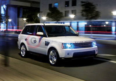 The New Range Rover Sport Side View