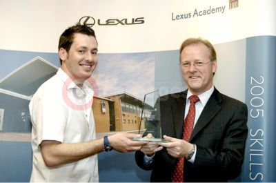 Lee O'Doherty of Lexus Liverpool