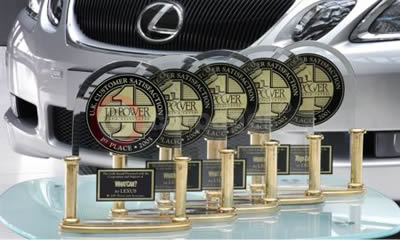Lexus Named Top Brand For Fifth Year In A Row