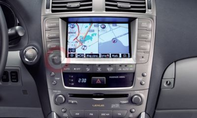 Lexus IS Satellite Navigation