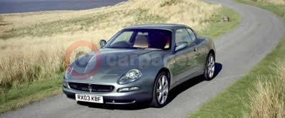 The 2004 Maserati Coupe