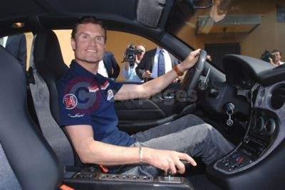 David Coulthard In His Maserati GranSport