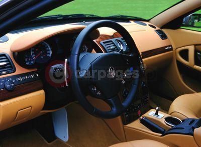 Maserati+quattroporte+interior