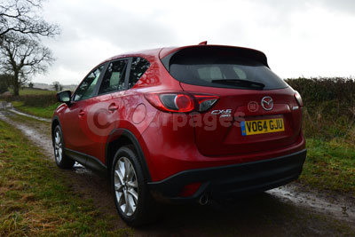 Mazda CX-5 (Rear Side View) (2015)