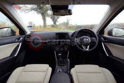 Mazda CX-5 (Interior View)