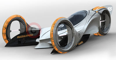 The Mazda KAAN wins The Design Challenge 'Motor Sports 2025'