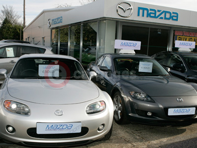 Mazda MX-5 and RX-8