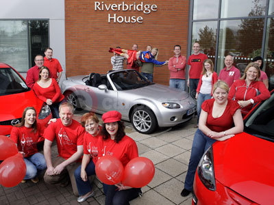 Mazda's Wear It Red Day