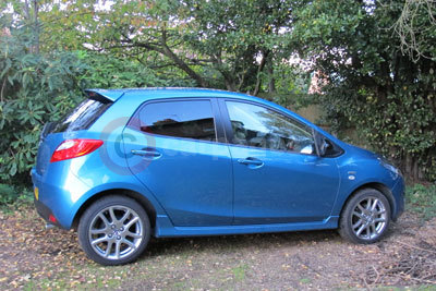 Mazda2 (Front / Side View) (2014)