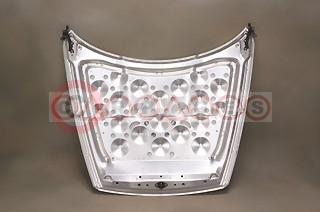 Shock Cone Aluminum Hood (inner surface)
