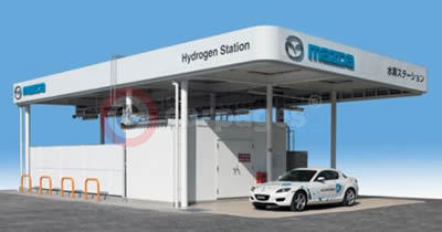Mazda's New Hydrogen Gas Filling Station