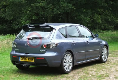 mazda3 mps sports aero road test (2007)