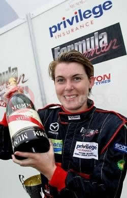 Natasha Firman, Privilege Insurance Formula Woman Champion 2004