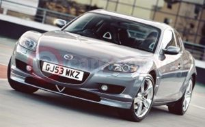 Mazda RX-8 With Accessories