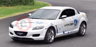 RX-8 Hydrogen Powered Rotary Engine