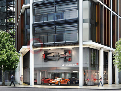 McLaren London Dealership