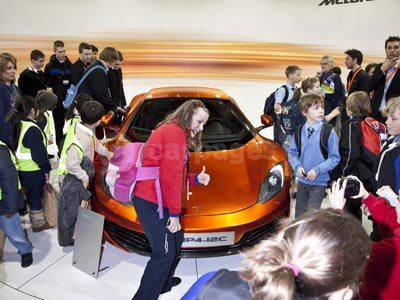 McLaren At MP4-12C On Show At The Big Bang UK Young Scientists & Engineers Fair