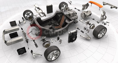 McLaren MP4-12C Exploded View