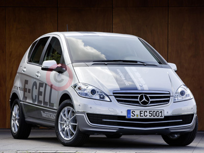 New Mercedes Benz A-Class E-CELL