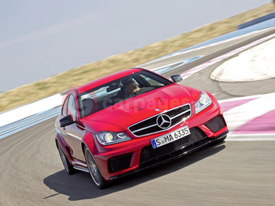 New Mercedes Benz C 63 AMG Coupe Black Series
