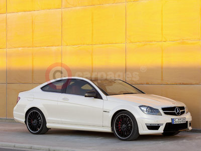 New Mercedes Benz C 63 AMG Coupe