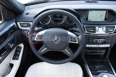 Mercedes Benz E-Class (Interior View) (2013)