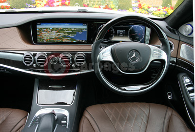 Mercedes Benz S-Class (Interior View) (2014)