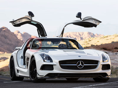 Mercedes Benz SLS AMG Black Series Coupe (2013)