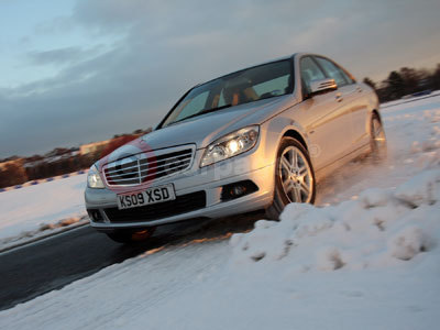 Mercedes Benz Winter Driving Course