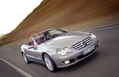 Revised Mercedes-Benz SL-Class Roadster