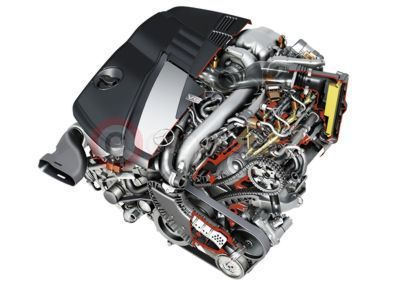 New V6 Diesel Engine