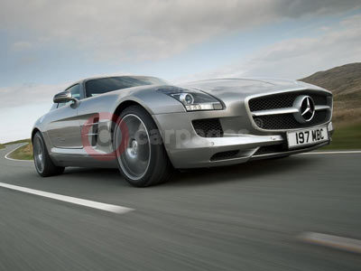 Win an experience in the new mercedes benz sls amg for Win a mercedes benz