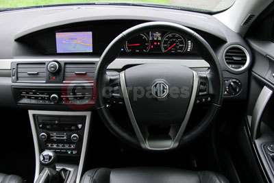 MG MG6 GT (Interior View) (2013)