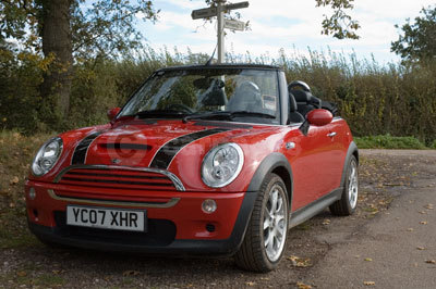 MINI Cooper S Convertible Front Side