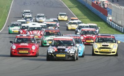 2005 John Cooper Challenge Competitors At Donington In April