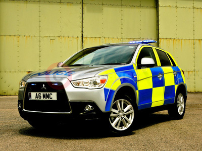 Mitsubishi ASX In Police Livery