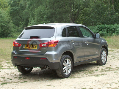 Mitsubishi ASX Rear View