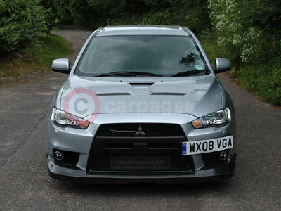 The Mitsubishi Lancer Evolution X