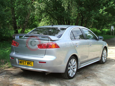 Mitsubishi Lancer 2.0 Di-D GS3 Rear Side