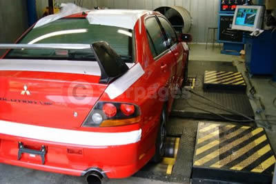 Mitsubishi Lancer Evolution VIII MR400
