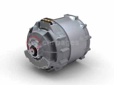 A Derivative of Zytek's Production 70kW 300Nm E-Drive