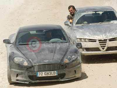 Aston Martin DBS From Quantum of Solace