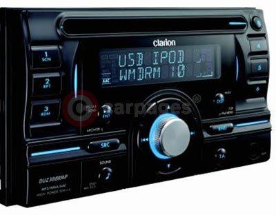 Clarion Duz388rmp Double Din Audio Head Unit Released