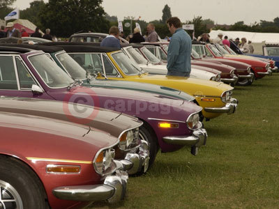 Classic Cars At The Stoneleigh Park Country Festival